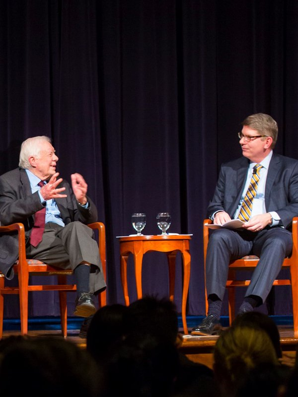 Douglas Hick and Jimmy Carter Interview